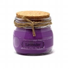 American Candle Lavender Cork Top Jar Candle