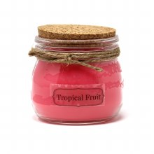 American Candle Tropical Fruit Cork Top Jar