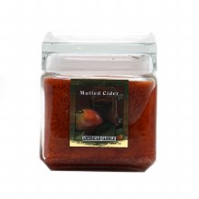 American Candle Mulled Cider Square Jar Candle