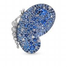 Butterfly brooch in sterling s