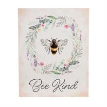 "LED Canvas Wall Decor, 16""W x 20""H, Bee Kind"