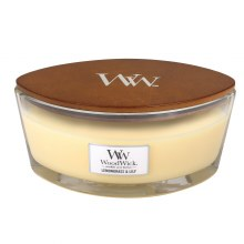 Woodwick Large Jar Lemongrass & Lily
