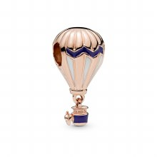 Air balloon Pandora Rose charm