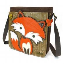 Deluxe Messenger Bag  Fox   dk