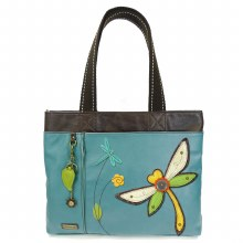 Big Tote Dragonfly turquoise
