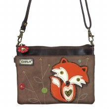 Mini Crossbody Fox brown