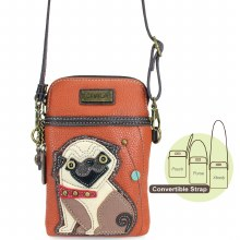CellPhoneXbody Pug orange
