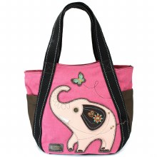 Carryall Ziptote  Elephant pin