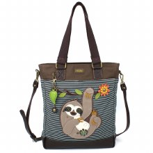 Work Tote Sloth BlueStripe
