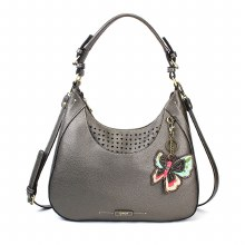 Sweet Tote NewButterfly Pewter