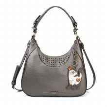Sweet Tote Slim Cat Pewter