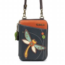 WalletCrossbody Dragonfly navy