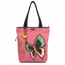 Everyday Zip Tote II  Butterfl