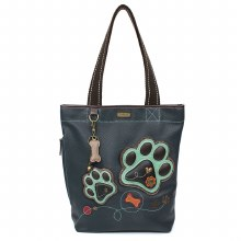 Everyday Zip Tote II  PawPrint