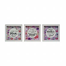 Mom Cutout Block - Three Sayings to Choose From