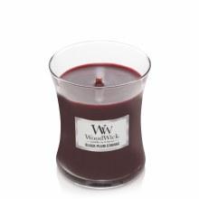 Woodwick Medium Jar Black Plum Congnc