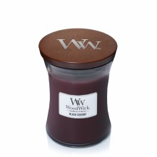 Woodwick Medium Jar Black Cherry