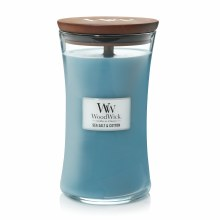 Woodwick Large Jar Sea Salt/Cotton