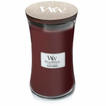 Woodwick Large Jar Black Cherry