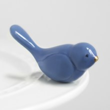 Nora Fleming Minis bluebird of happiness