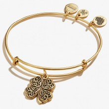 Alex and Ani Four Leaf Clover IV EWB RG
