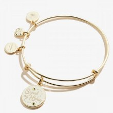 Alex and Ani Color Infusion Sweet as Honey EWB SG