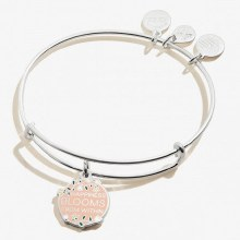 Alex and Ani Color Infusion Happiness Blooms from Within EWB SS