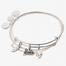 Alex and Ani Barbie Trio Charm EWB SS