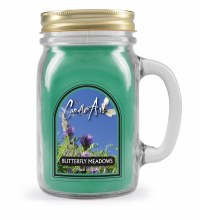 Butterfly Meadows Mug Candle with Wood Wick