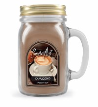 Cappuchino Mug Candle with Wood Wick