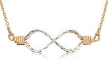 Ronaldo infinity necklace