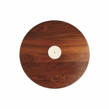 Nora Fleming Servingware walnut lazy susan