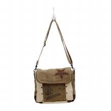 Leather Star Shoulder Bag
