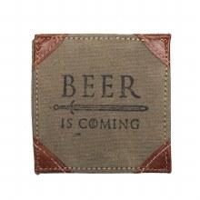 Beer Is Coming Coaster Set Of