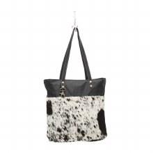 Black Shades Hair-On Tote Bag