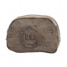 """USA"" STAMP MAKE-UP KIT BAG"