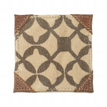 Beige Abstract Design Coaster