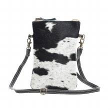 Black And White Cross Body Bag