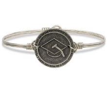 Graduation Bangle - Luca + Danni Silver