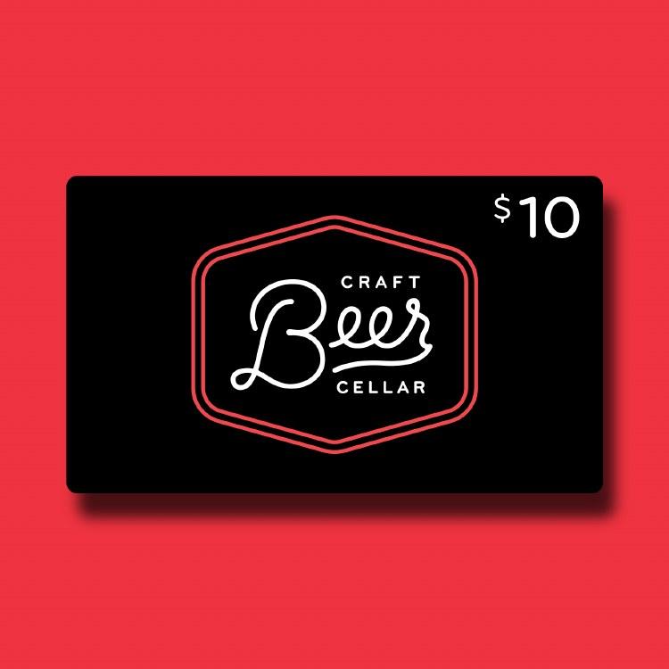 $10 Beer Geek Gift Card