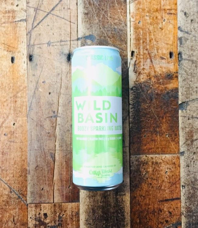 Wild Basin Lime - 12oz Can