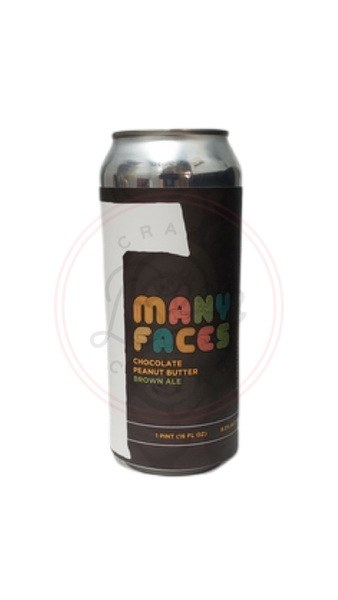 Many Faces - 16oz Can