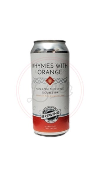 Rhymes With Orange - 16oz Can