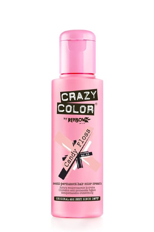 Crazy Color  Candy Floss 100ml Semi Permanent Hair Colour Cream