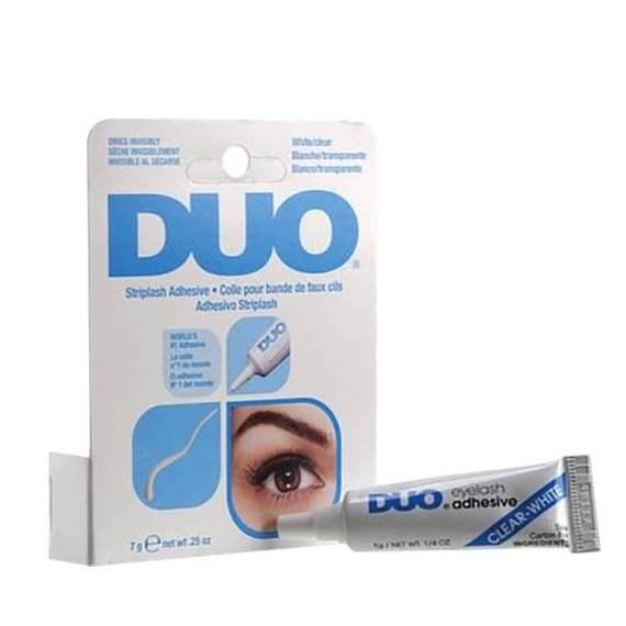 Duo Brush On Strip Adhesive Latex Free White (Dries Clear) 5g