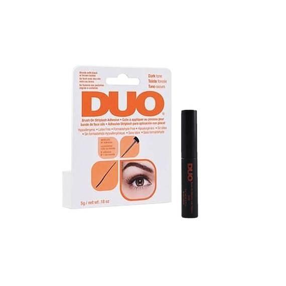 Duo Brush On Strip Adhesive Latex Free Dark (Dries Black) 5g