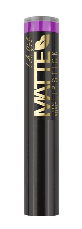 L.A. Girl Matte Flat Velvet Lipstick-Giggle