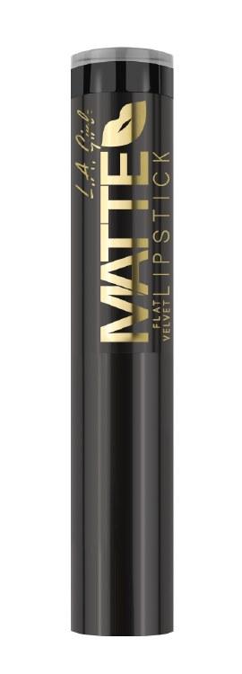 L.A. Girl Matte Flat Velvet Lipstick- Raven