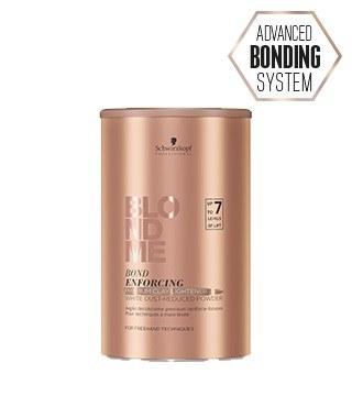 Schwarzkopf Blonde Me Bond Enforcing Premium Lightener 9+ Dust Free Powder