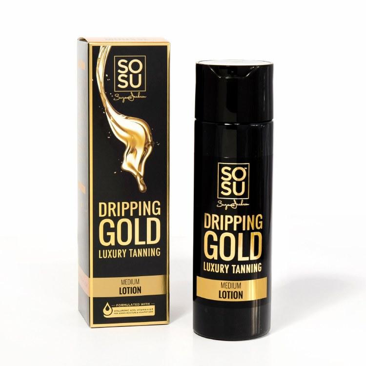 SoSu Dripping Gold Medium Lotion